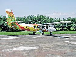 Flugzeug landet in Nicaragua