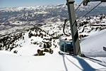 Zum Skifahren nach Utah ins Snowbasin Allens Peak
