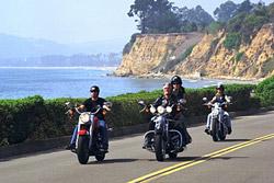 Motorradtour in den USA